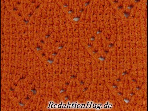 Tunesisch Häkeln Leuchtfeuer Veronika Hug Tunisian Crochet