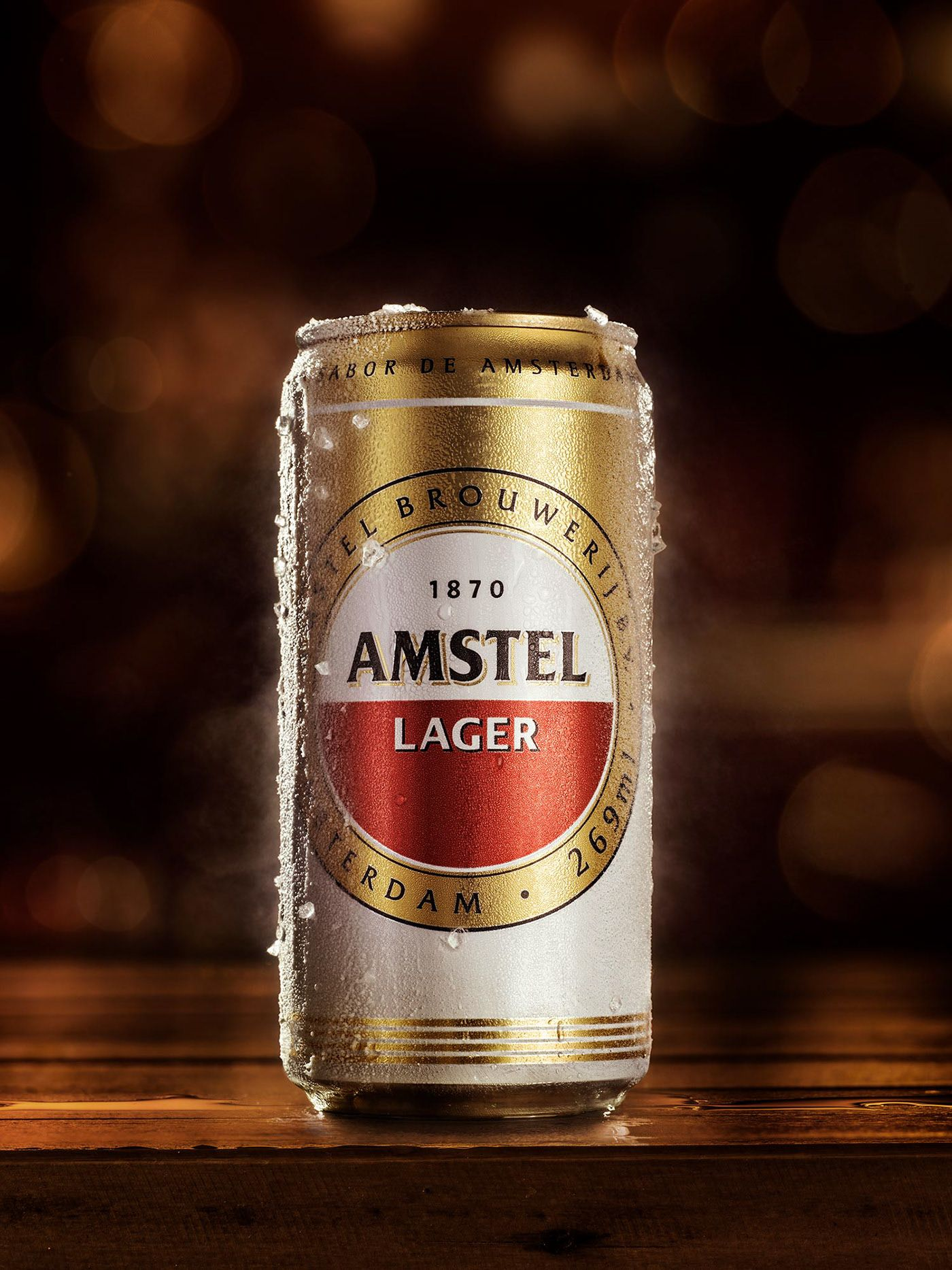 Amstel on Behance in 2020 Beer, Beer photos, Vintage beer