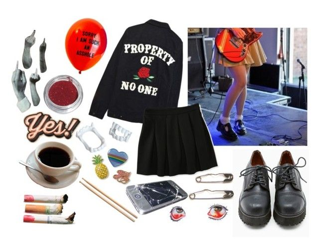 """""""cool girl"""" by thekingdom ❤ liked on Polyvore featuring Sixtyseven, Anya Hindmarch, Juicy Couture, High Heels Suicide and Aéropostale"""