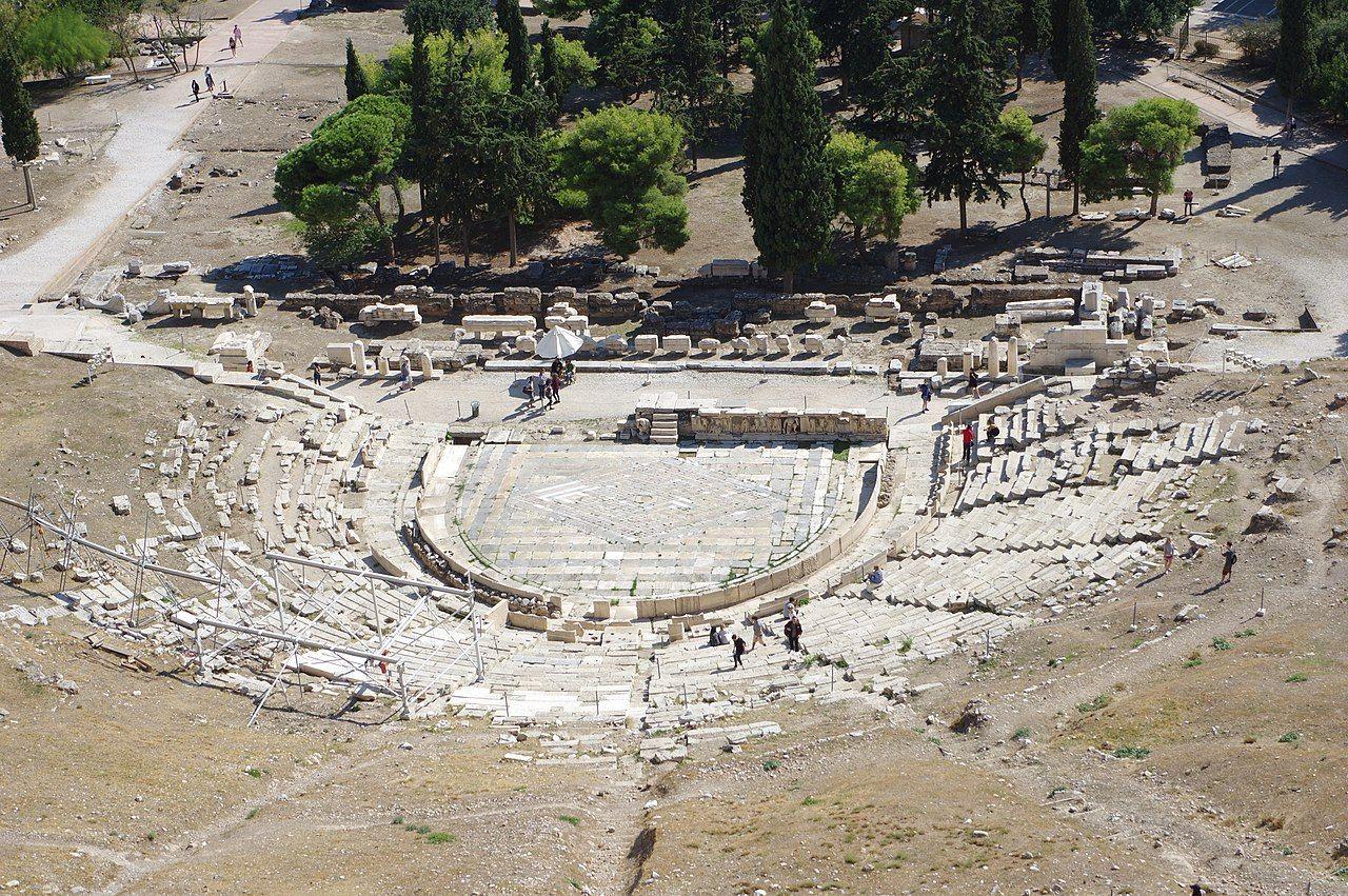 Theatre De Dionysos A Athenes