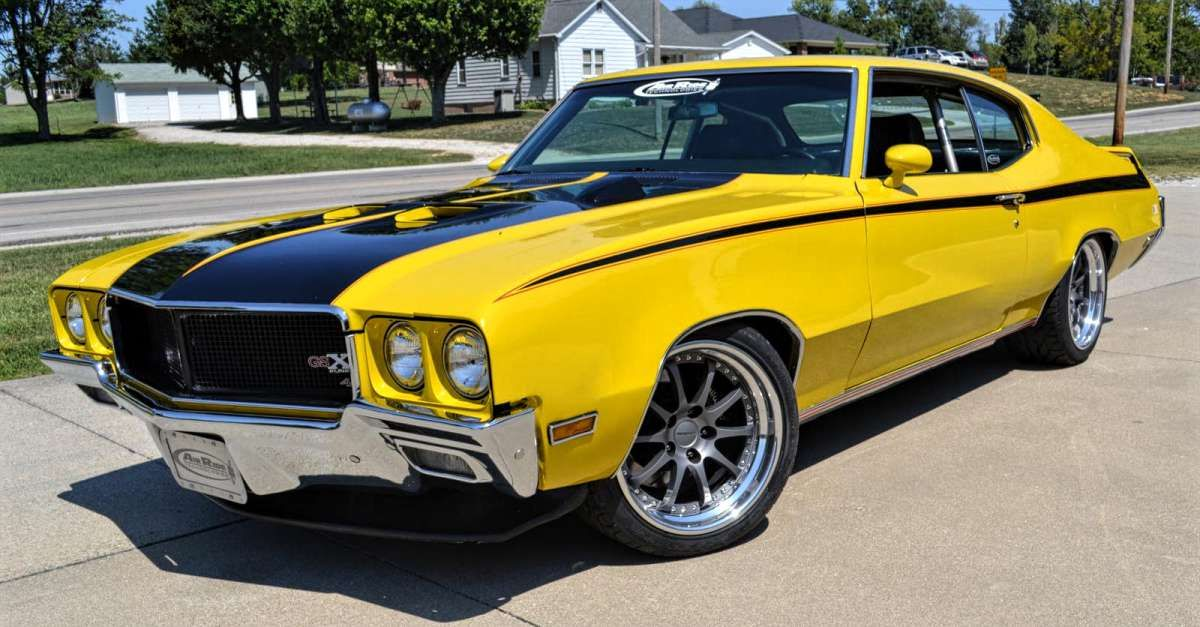 25 Fastest Muscle Cars Of The 60s And 70s Buick Gsx Best Muscle