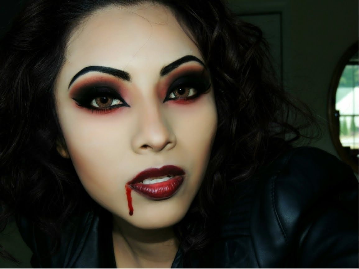 Really great tutorial for halloween httpyoutuuqbmlrhb my 10 scary halloween makeup tutorials that are still kind of hot baditri Image collections