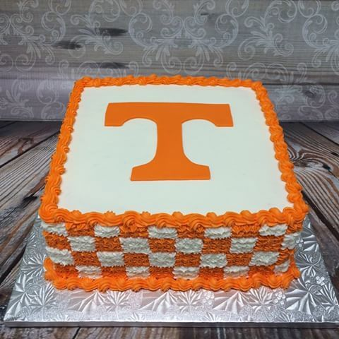 Tennessee Vols Cake Decorations