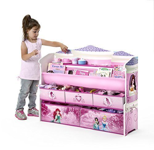 Girl Room Kids Bookcase Cabinets Bookshelf Deluxe Toy Organizers Disney Princess Kid Toy Storage Toy Organization Kids Bookcase