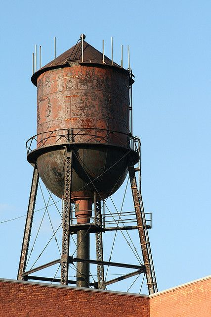 Rusty water tower | Rust and Such | Rust never sleeps, Water tower, Rust