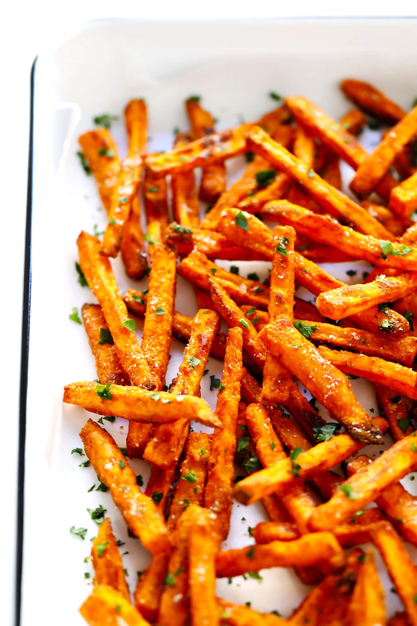 The Best Sweet Potato Fries Recipe Gimme Some Oven Recipe Sweet Potato Recipes Fries Best Baked Sweet Potato Sweet Potato Fries Baked