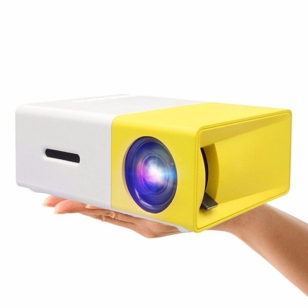 This Powerful Mini Projector For When You Re Sick And Tired Of