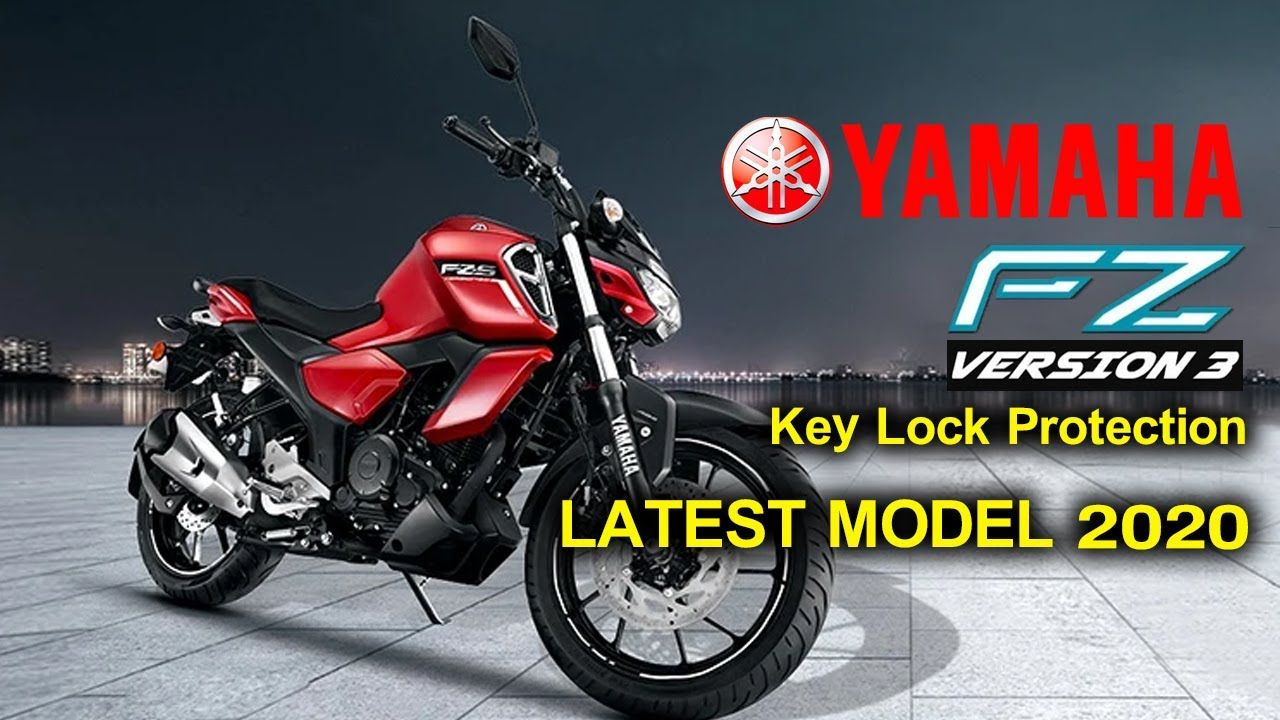 Yamaha New Model Fzs V3 Bs6 Specifications Welgrow In 2020