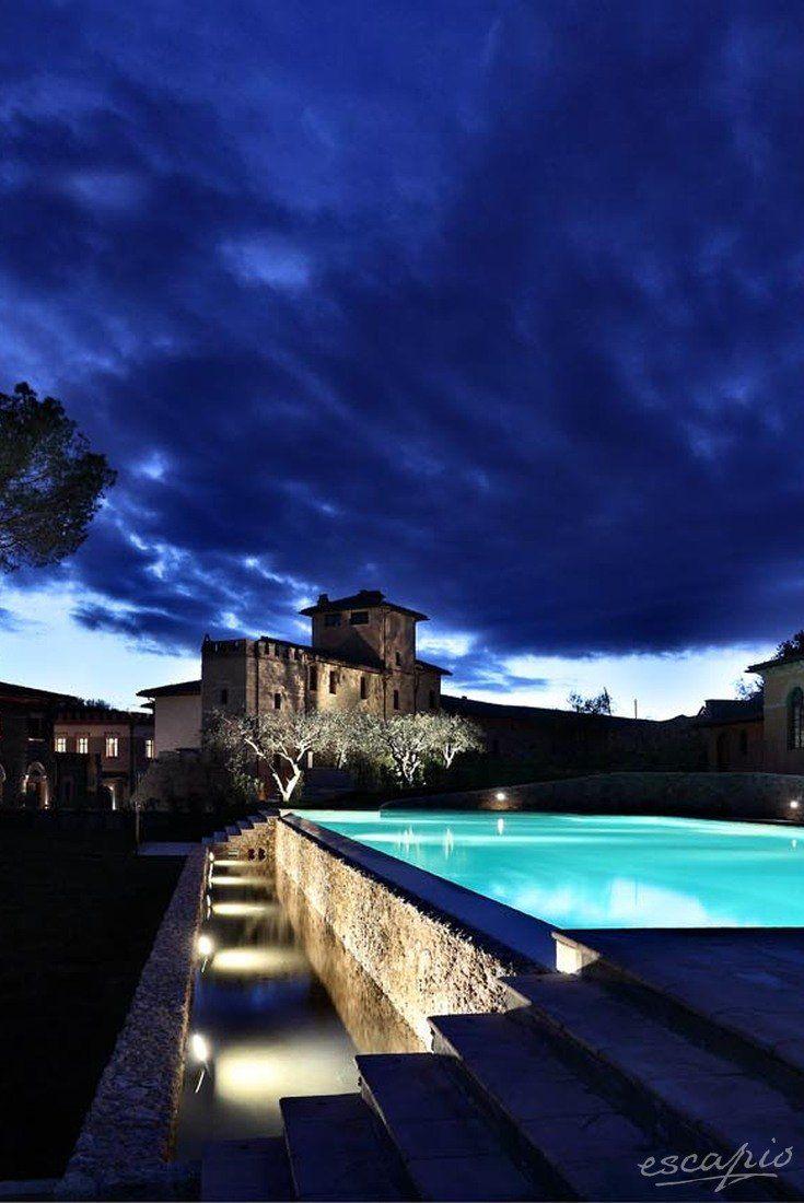 Great Pool In Perugia Italy Borgo Dei Conti Resort Italien