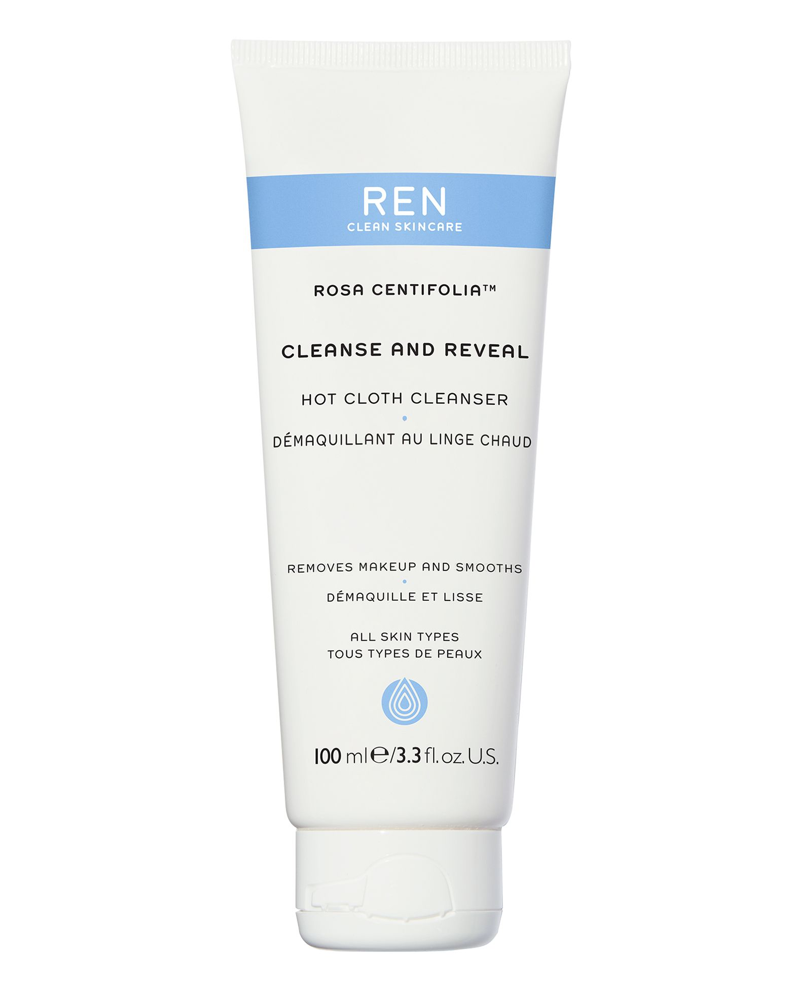 Rosa Centifolia Cleanse And Reveal Hot Cloth Cleanser In 2018 Berrisom Collagen Intensive Firming Cream 50gr Shop By Ren Clean Skincare At Cult Beauty