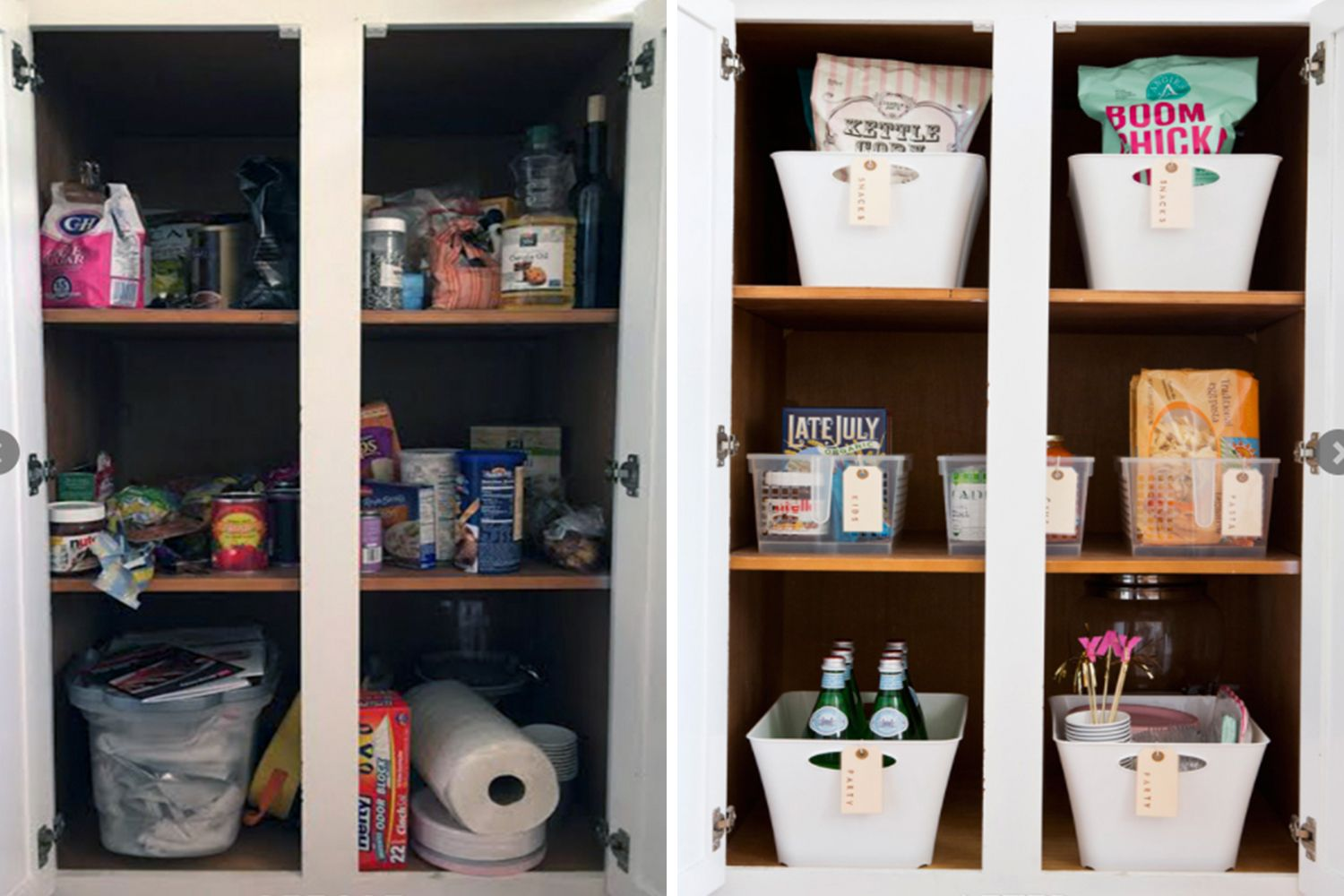 10 organizing before after transformations that will blow you away organizzare on kitchen organization before and after id=90223