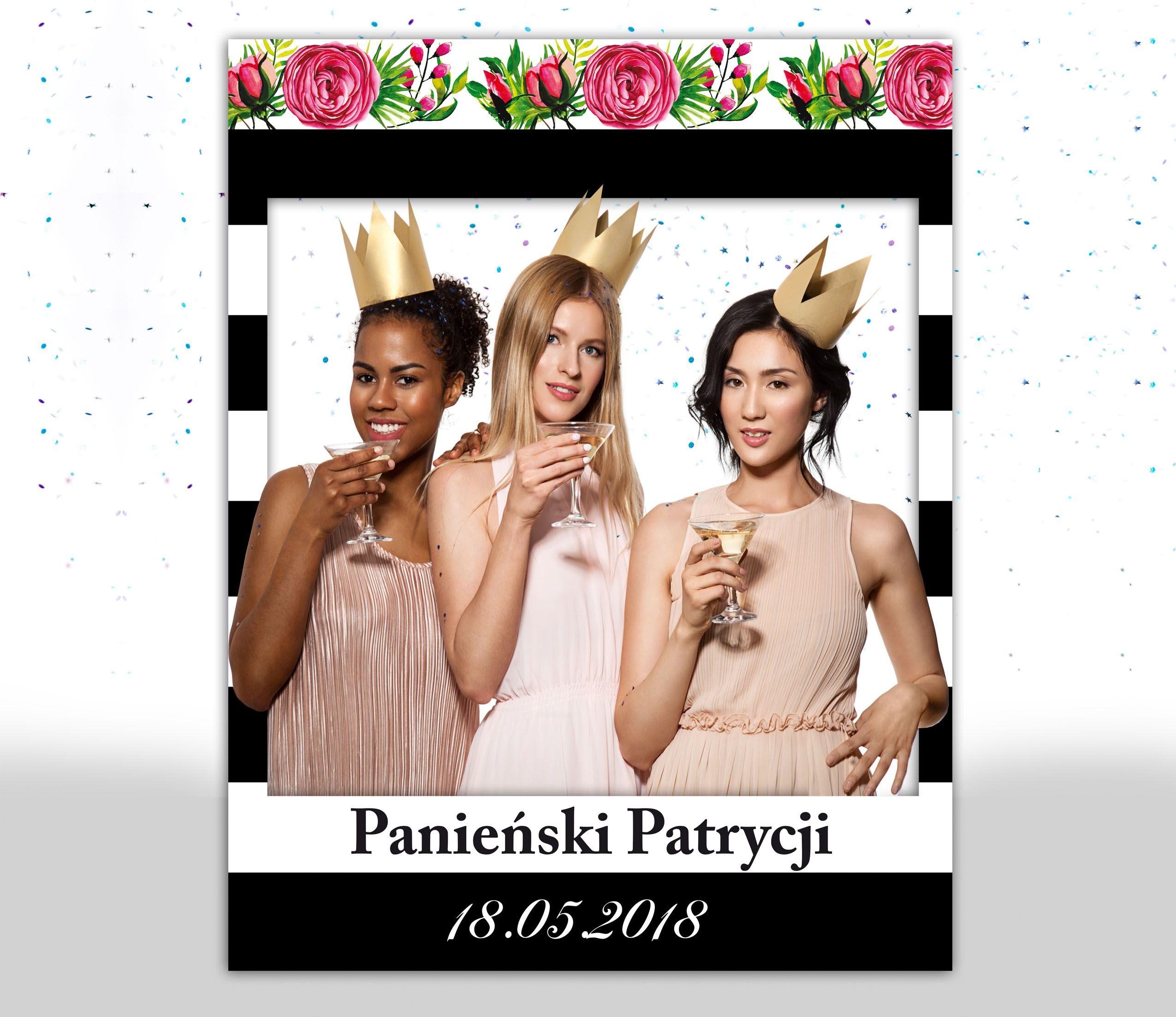 Foto Ramka Wieczor Panienski Z Personalizacja With Images