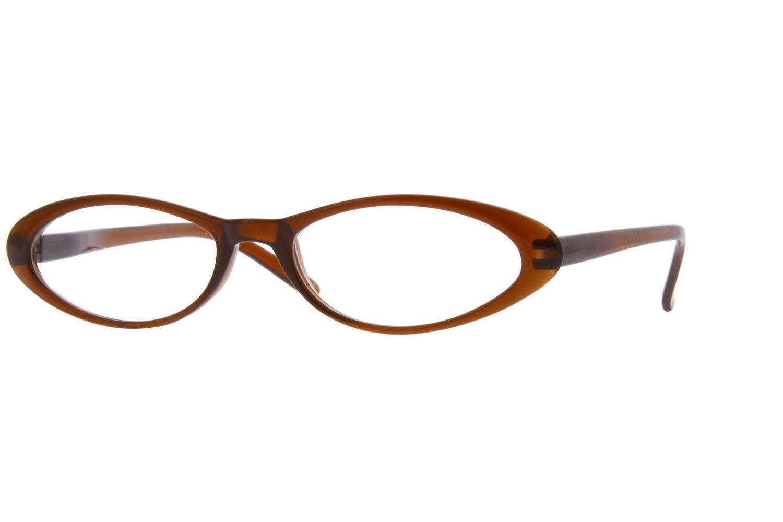 60220bc9ef7 Brown Oval Glasses  223615