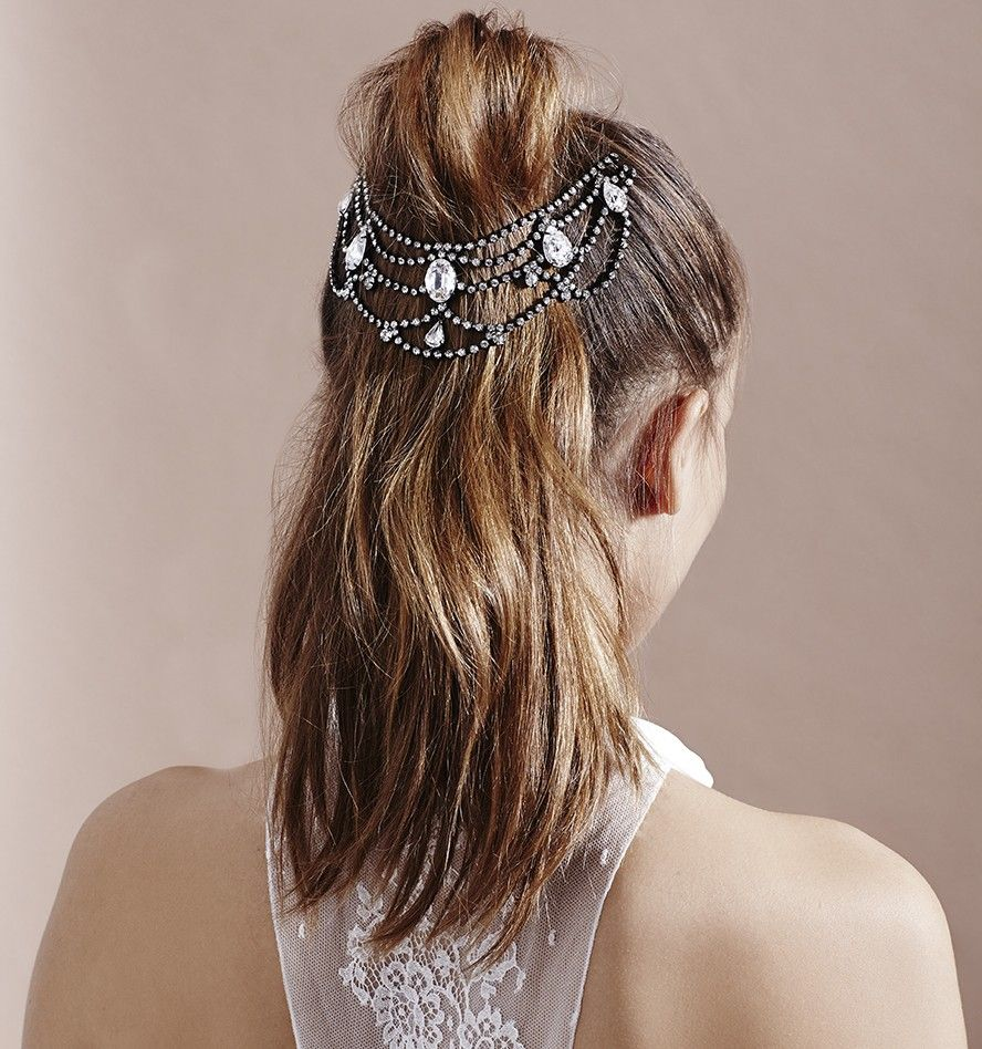 mara crystal drape | my style | pinterest | bandana hair and hair combs