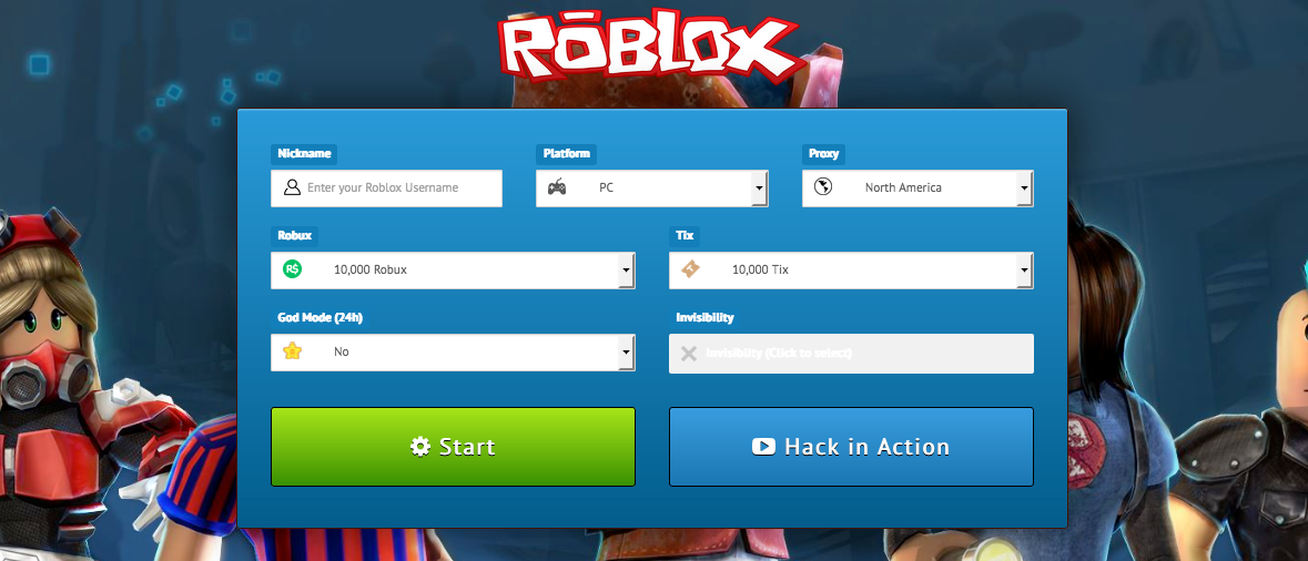 Roblox Hack - Get Free Robux Codes and More! [2017 ...