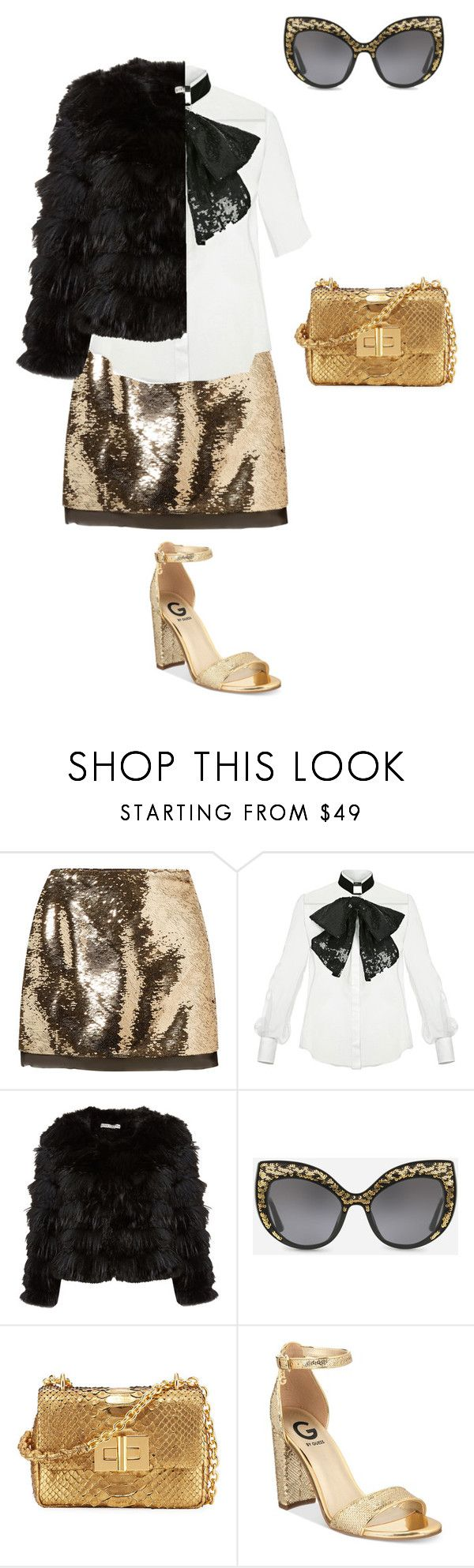 """""""if star butterfly light was on a show like scream queens outfit 42"""" by miliorobb on Polyvore featuring Rachel Zoe, Elisabetta Franchi, Dolce&Gabbana, Tom Ford and G by Guess"""