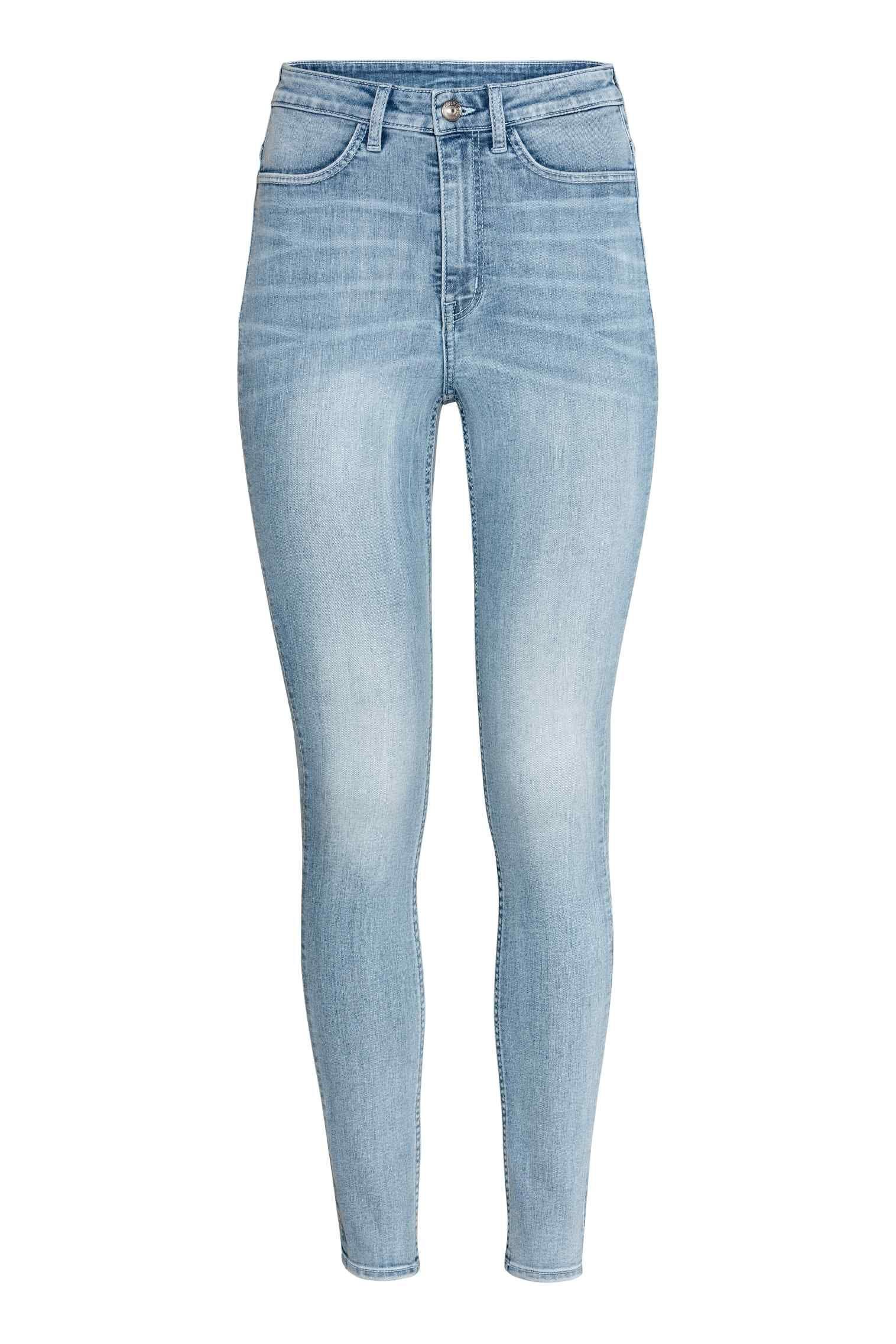 Photo of Super Skinny High Jeans – Lys denimblå – Damer | H&M GB