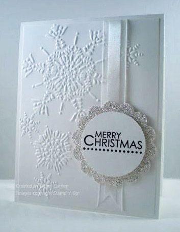 Snowflake// Snowflakes stencil Emboss Christmas Xmas Multi Brass