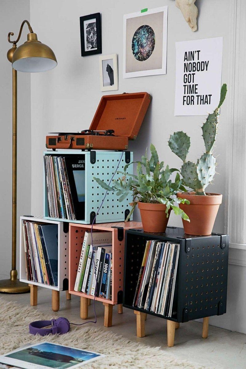 46 Meubles Pour Ranger Des Vinyles Mobilier De Salon Deco Maison Deco