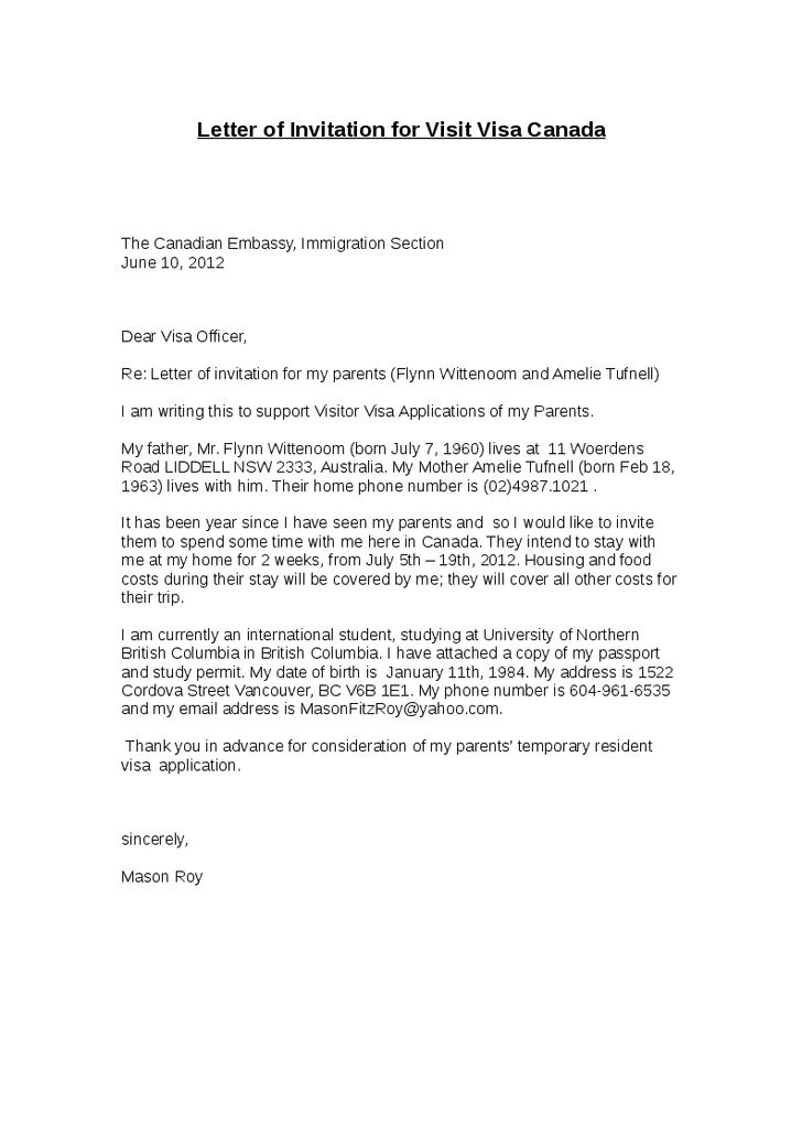 Visa Withdrawal Letter Request Letter Format Letter And Format - Format Of A Sponsorship Letter