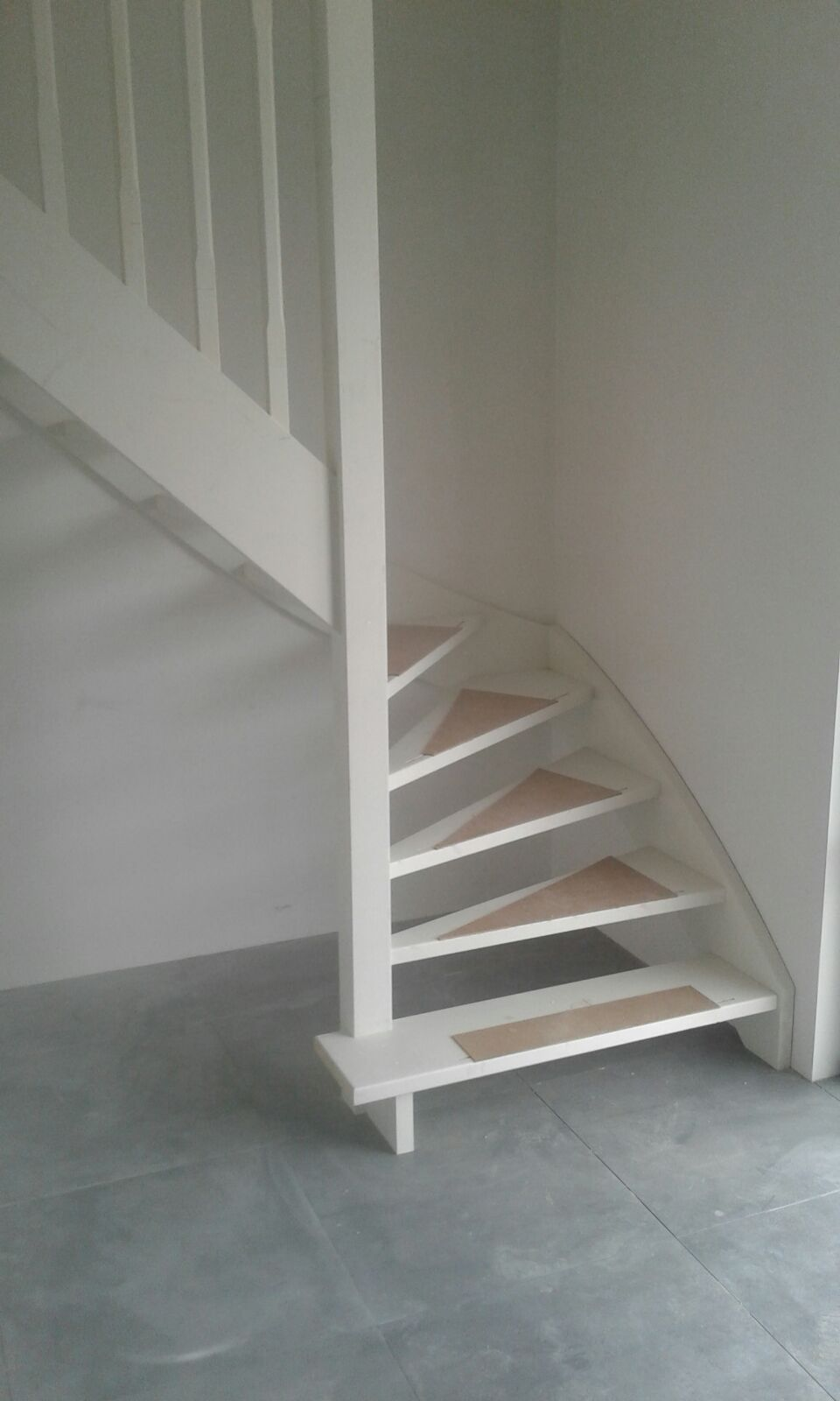 Multiplex Interieur Gegrond Vuren Gegrond Open Trap Houten Trappen Stairs Home Decor En