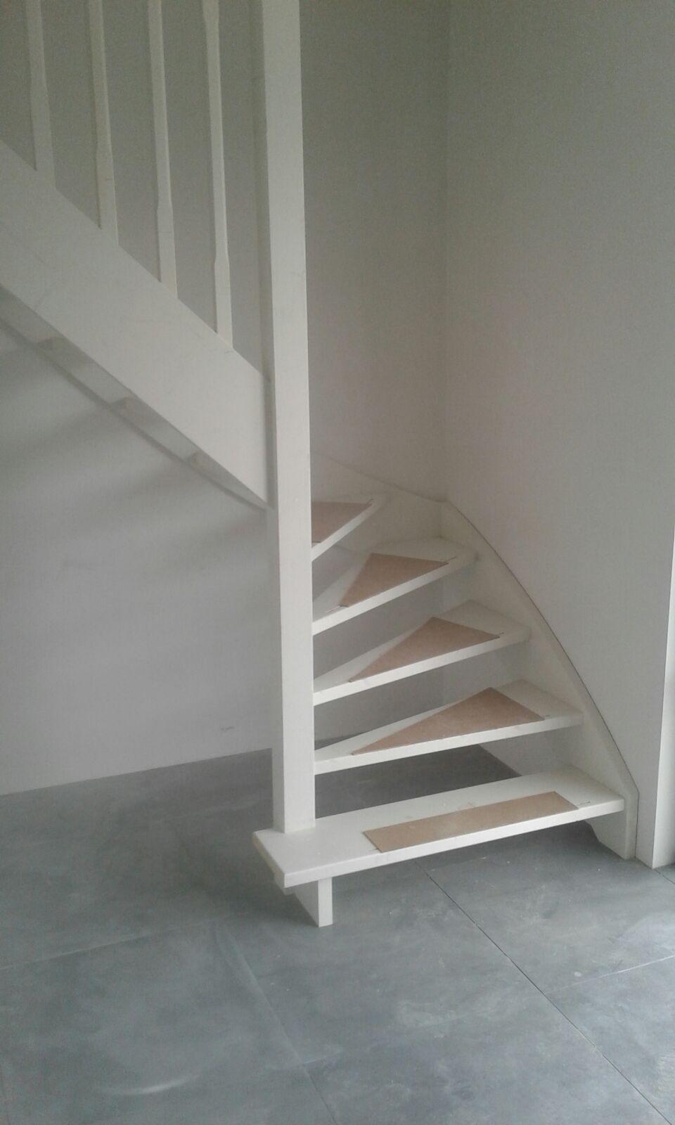 Genoeg Vuren gegrond open trap. | Ideeën voor het huis - Stairs, Home @ML38