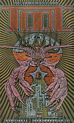 Tool poster in 2019 | Band posters, Tour posters, Music artwork