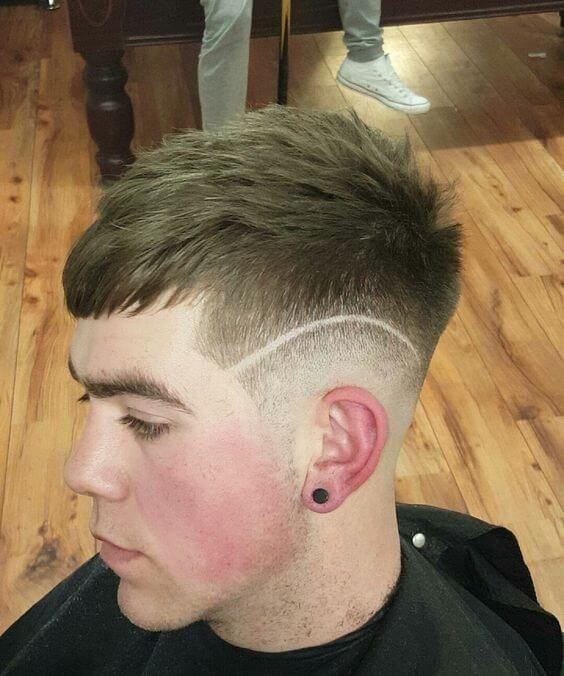 The Most Outstanding Feature Of This Haircut Is A Splendid Shaved