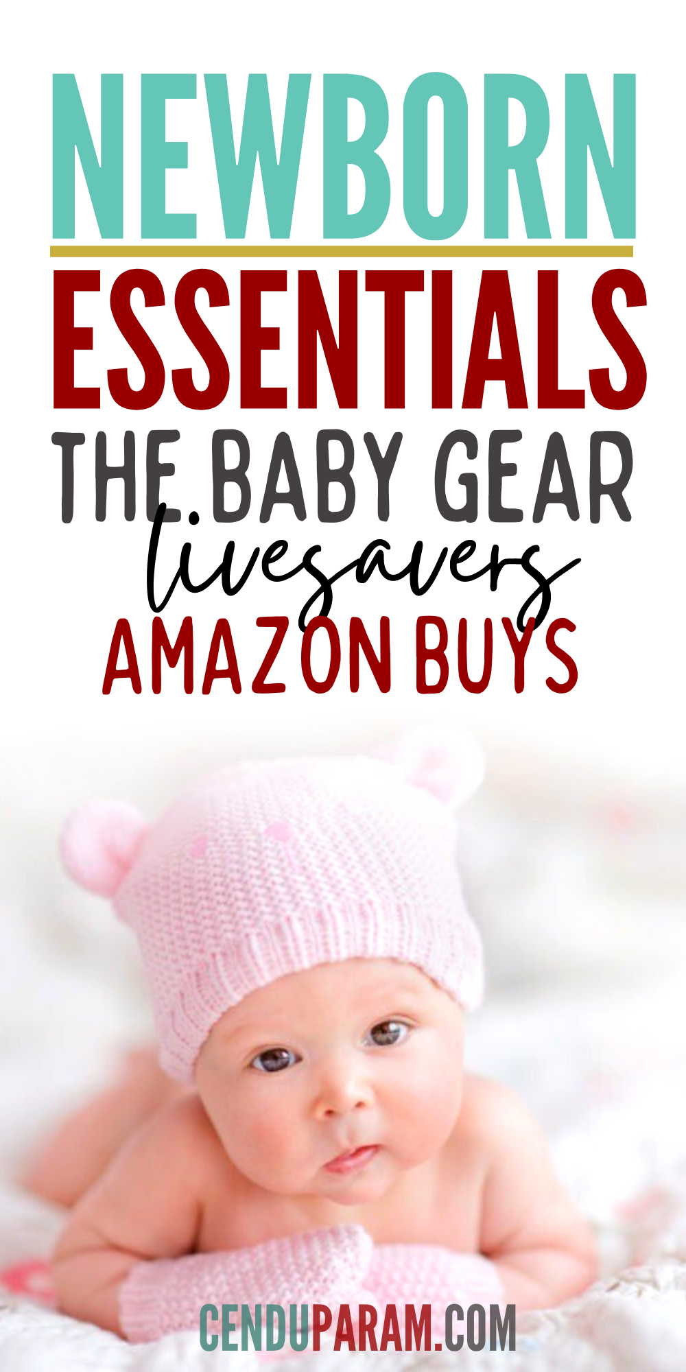 Baby Things You Need (BEST Newborn and Baby products)