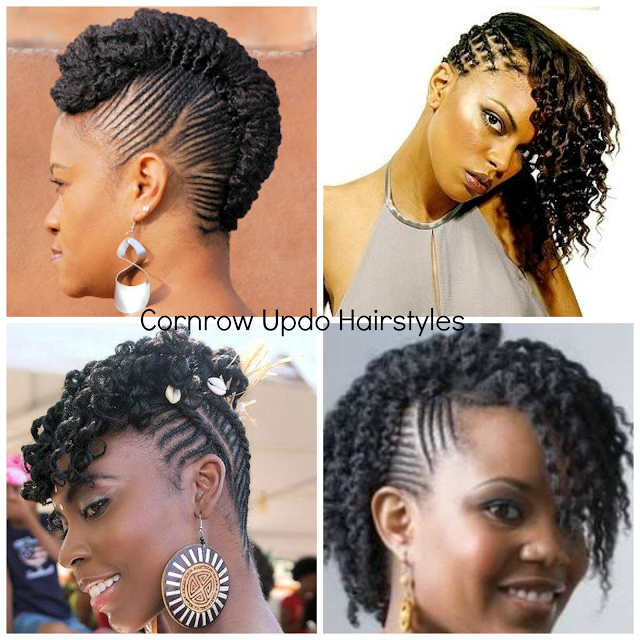 Natural Hair Cornrow Updos One Of The Dopest Protective Styles Ever Paperblog Natural Cornrow Hairstyles Natural Hair Styles Cornrow Hairstyles