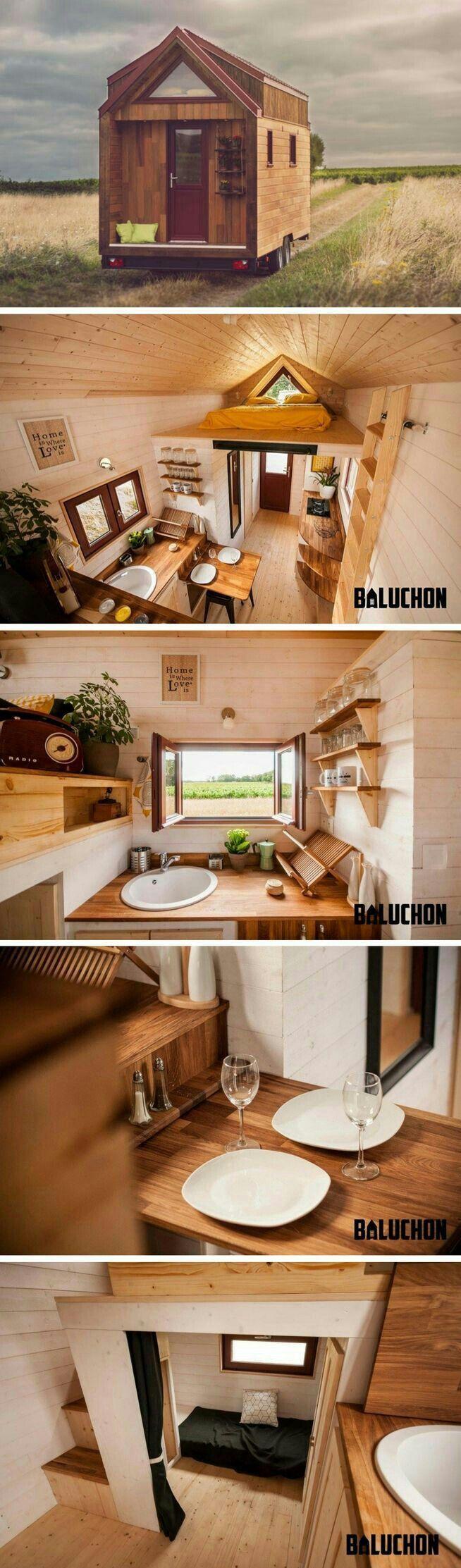 Pin von Catalina Guzman auf tiny houses | Pinterest | Holzhäuschen ...