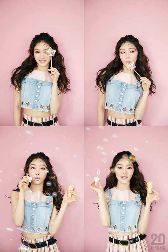 Kim Chung Ha Shows Her Youthful Bubbly Personality For Univ20 Allkpop Com Kim Chanmi Kim Chungha Inspiracao Para Fotos