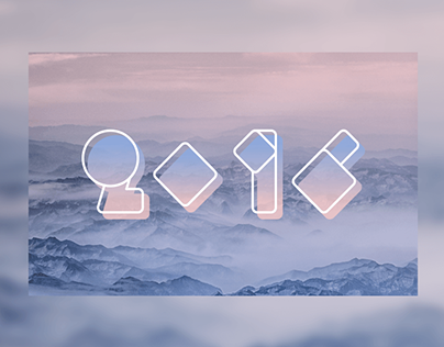 """Check out new work on my @Behance portfolio: """"2016 new year"""" http://be.net/gallery/32152135/2016-new-year"""