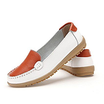 c224be26420d0 Amazon.com: Fheaven Women Flats Shoes Slip On Comfort Shoes Flat ...