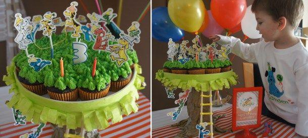Cupcake Birthday tree