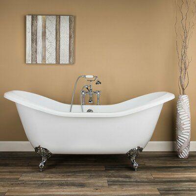 Chevington Serenity 72 X 31 Clawfoot Soaking Bathtub Products
