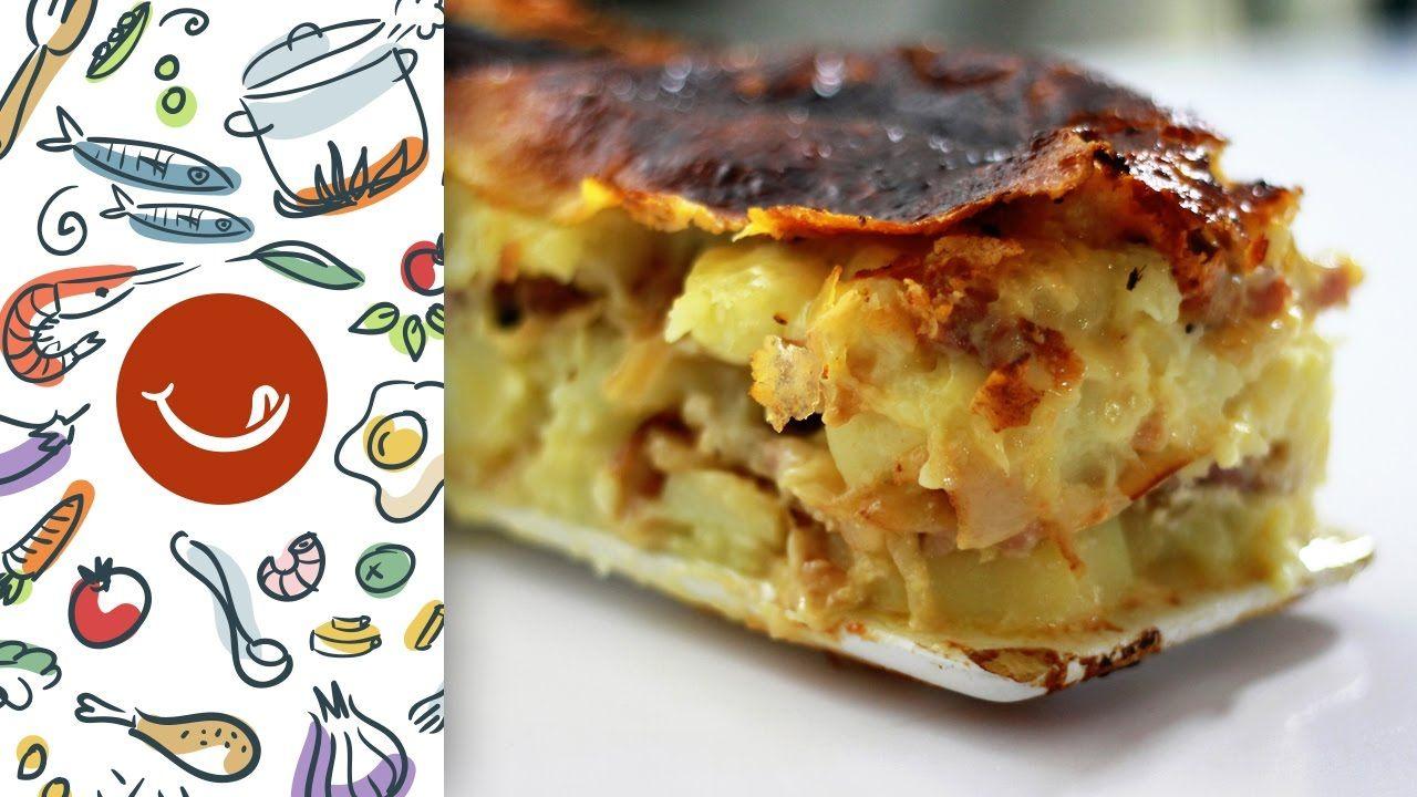 Cómo preparar Tartiflette o Patatas con queso a la francesa