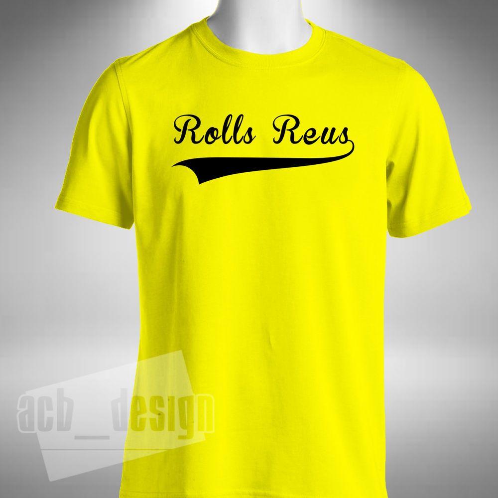 new style 8f48e b703c Details about Marco Reus Mens T Shirt Rolls Reus Nickname ...