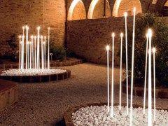Decorazione luminosa a led per spazi pubblici typha iguzzini