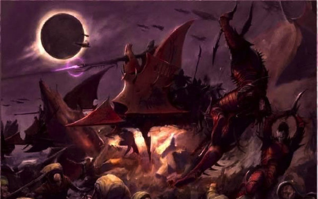 The Eldar have been masters of the webway for as long as