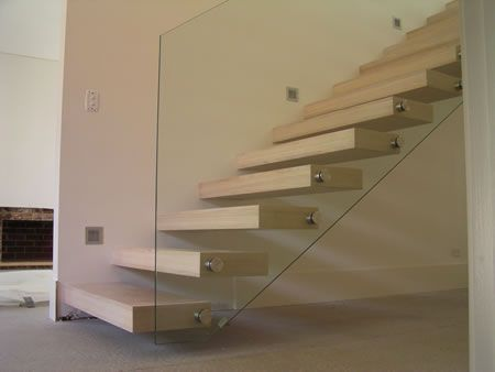 Stairs  s  Floating StaircaseGlass ...