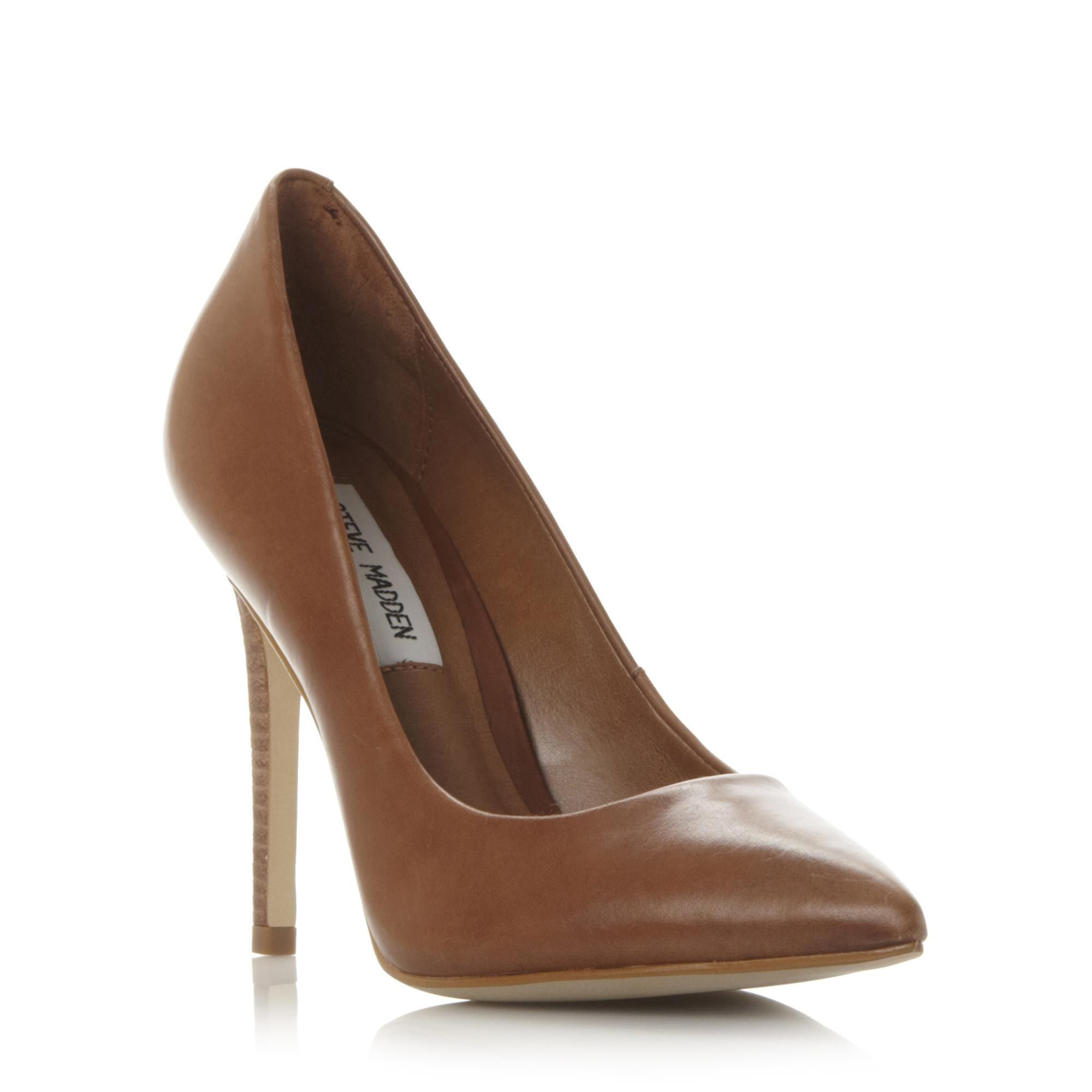 7aaf09bb58a STEVE MADDEN PROTO 2 SM - Pointed Toe Court Shoe - tan | Dune Shoes ...