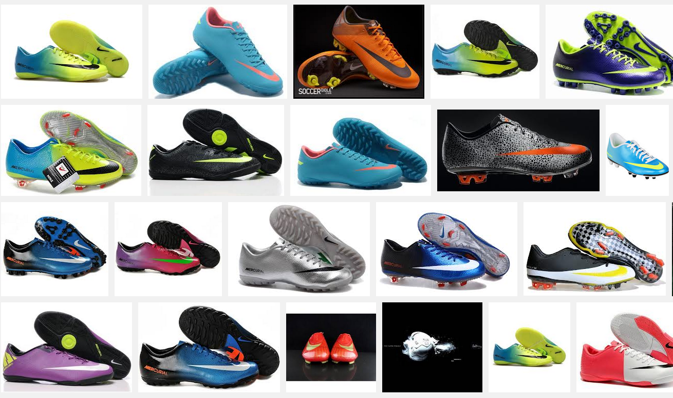 latest football boots, including Nike football boots, adidas football boots  and many more online