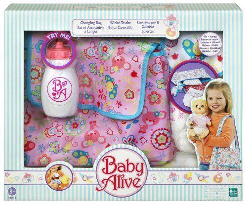 Alive 186571861 Poupon Hasbro Baby Accessori 8z1EUS