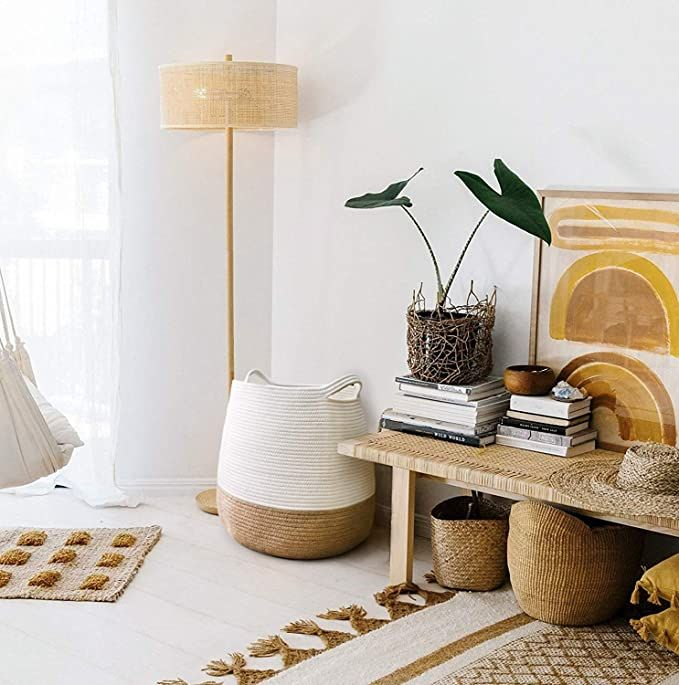 We are sharing all our Amazon home decor favorites all in one spot! From home decor, to outdoor decor and organization options there are SO many great Amazon finds that won't break the bank. Plus, you'll get them quickly with prime. #amazon #amazonhome #amazondecor #amazonfinds #homedecor #homeorganization