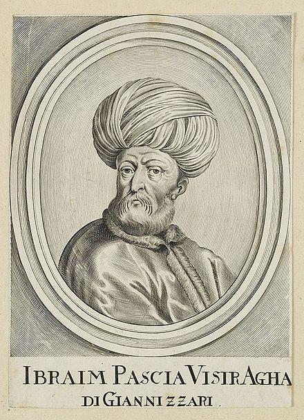 إبراهيم باشا الفرنجي 1493 أو 1494 1 1536 هو أول صدر أعظم يعينه سليمان القانوني بعد ارتقائه عرش الدولة العثمانية ولد إبراهيم Imperio Otomano Imperio Turcos