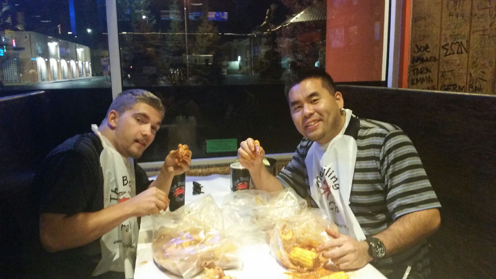 The Boiling Crab - All you can eat Crab Bake!!  Sacramento, Ca