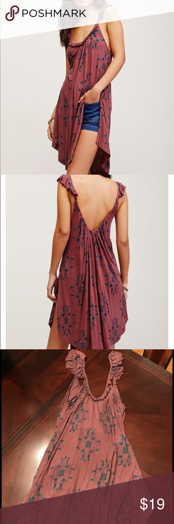 NWT Free People Drifter Tank! BRAND NEW WITH TAGS! Free People Drifter Tank! Can be worn as shirt or dress. Swingy tank in a lightweight ribbed fabrication with sweep ruffle detail along the neckline for a femme effect. Side vents and rounded hem make for an easy, effortless fit. Size XS. no trades  Free People Tops Tank Tops