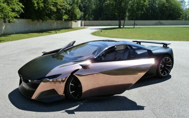 Stunning Peugeot Onyx Concept Car | Really Cool Cars | Pinterest ...