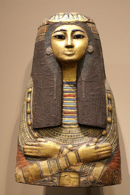Innermost of the three coffins of the Amun Priestess Takait, Egypt, 19th dynasty, 13th century BC.